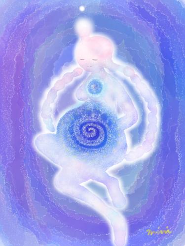 渦巻き模様の神秘